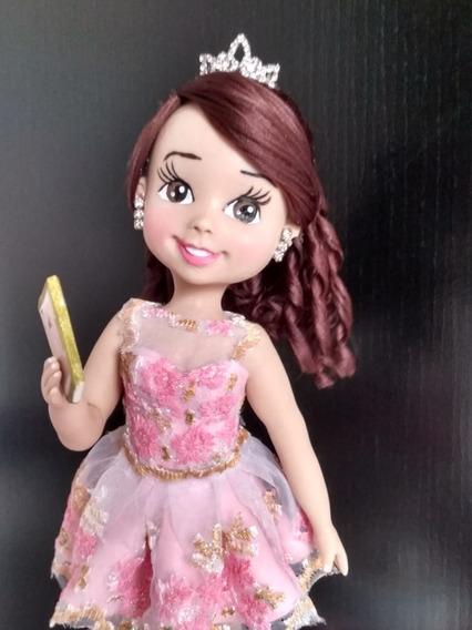Vela Personalizada Debutante Topo De Bolo 15 Anos