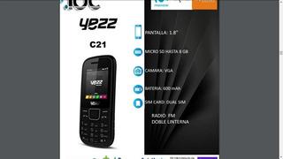 Telefono Yess C21 Basico... Doble Sim... Liberado..