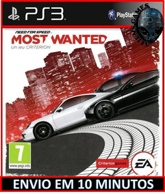 Need For Speed Most Wanted Ps3 Psn Envio Agora