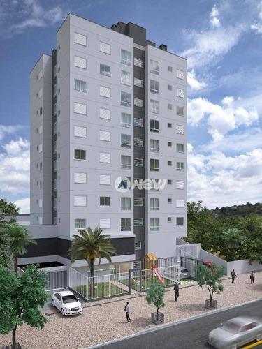 Apartamento À Venda, 51 M² Por R$ 209.970,00 - Centro/ Guarani - Novo Hamburgo/rs - Ap2807