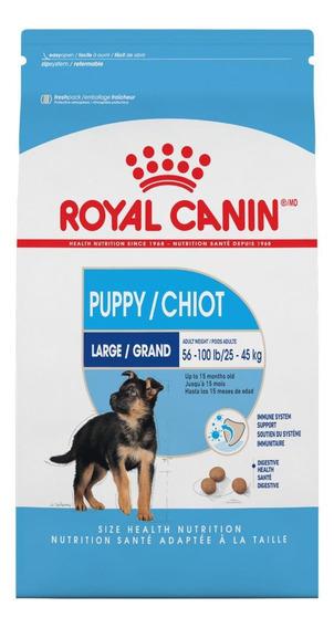 Alimento Royal Canin Size Health Nutrition Maxi Puppy perro cachorro raza grande mix 15.9kg