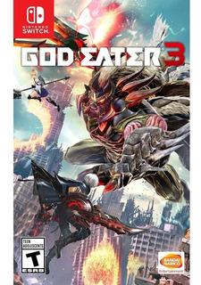 God Eater 3- Juego Físico Nintendo Switch - Sniper
