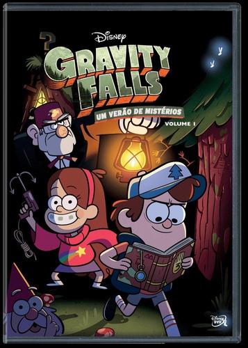Dvd Gravity Falls - Um Verão De Mistério Vol 1 - Disney