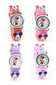 Relogio Infantil Feminino Da Minnie Disney