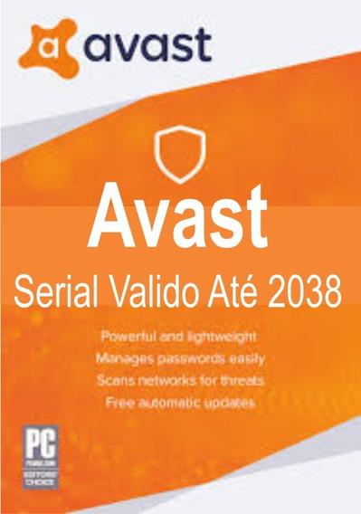 Avast Antivírus Valido Até 2038 Para Diversos Pc