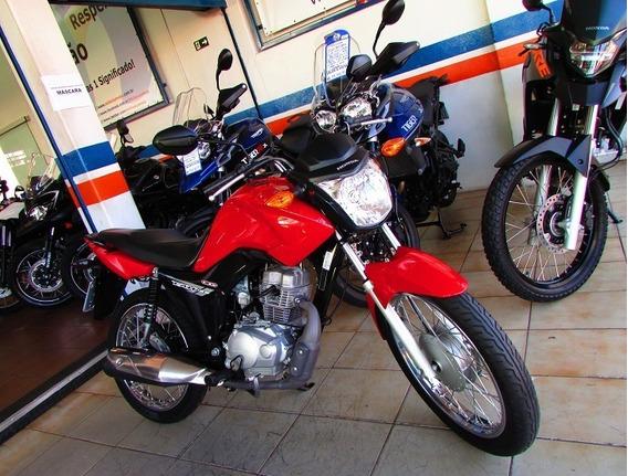Honda Cg 125 Fan Es - 10 Mil Km- Loja Millenium Amparo Sp