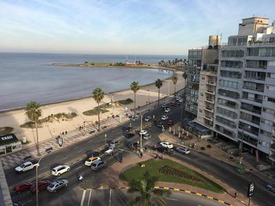 Alquiler Temporario Pocitos Excelente Vista A La Playa