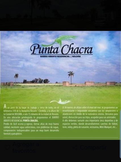 Dos Lotes Grandes En Punta Chacra Roldan