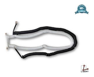 Extensión Cable Telefónico Blanco Negro 4,5 M Radox 863-610
