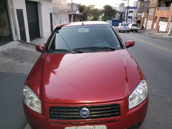Vendo Fiat Palio Elx Flex 1.4 4 Portas 2008 8v. Vermelho