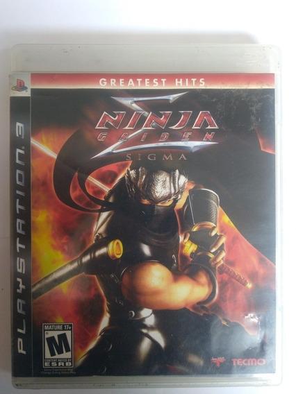 Jogo Ninja Gaiden Sigma Ps3 Mídia Física Completo R$59,80