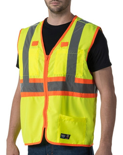 Chaleco Industria Seguridad Reflejante 3m Proteccion Trabajo