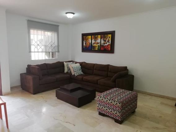 Arriendo Casa Amoblada Duplex En Villa Santos