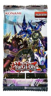 Yugioh Booster X 5 Cartas - Pendulum Evolution - Konami