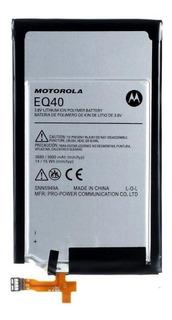 Bateria Motorola Eq40 Moto Maxx Xt1225 Excelente Qualidade