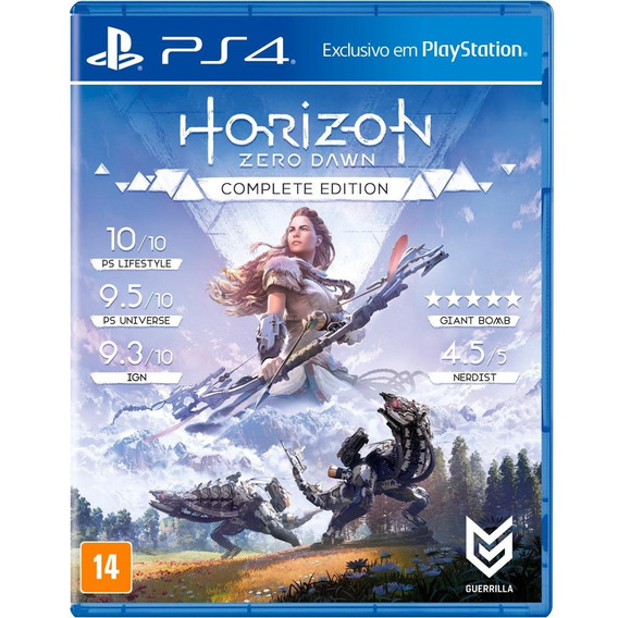 Horizon Zero Dawn Complete Edition Ps4 Mídia Física