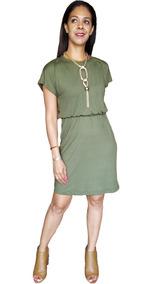 Vestido De Lactancia Y Embarazo Ropa Maternidad- Elena