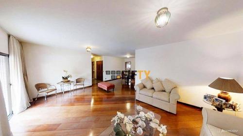 Apartamento, 217 M² - Venda Por R$ 1.910.000,00 Ou Aluguel Por R$ 6.500,00 - Moema - São Paulo/sp - Ap42373