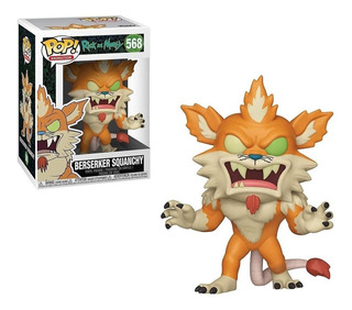 Funko Pop! Rick And Morty: S6 - Berserker Squanchy #568