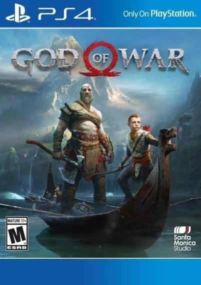 God Of War 4 (codigo Psn) - Envio Digital - Envio Imediato