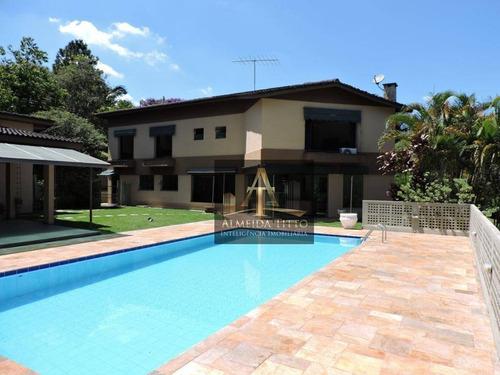 Imagem 1 de 28 de Excelente Casa À Venda No Fazendinha, Carapicuíba. 4 Suítes, 8 Vagas, Gourmet E Piscina! - Ca2571