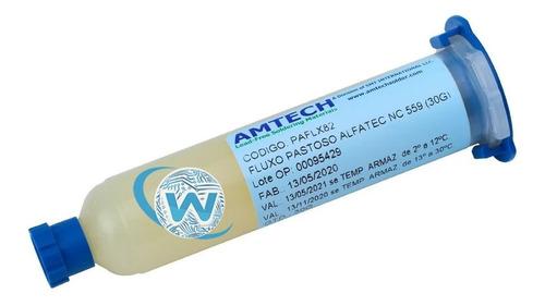Fluxo Amtech 559 Original - Nc559 30g - Com Garantia 559 Nc