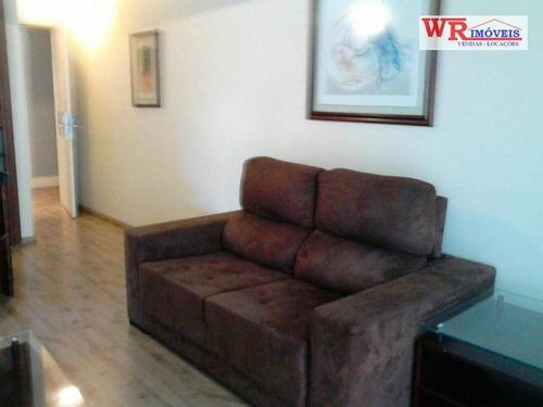 Flat Com 2 Dormitórios À Venda, 68 M² Por R$ 220.000,00 - Centro - São Bernardo Do Campo/sp - Fl0001
