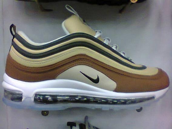 Tenis Nike Air Max 97 Caramelo E Marrom Nº38 Ao 43 Original