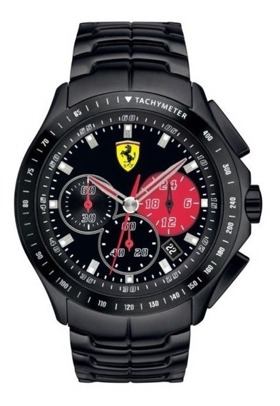 Relogio Scuderia Ferrari Race Day Tissot Inox