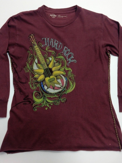 Remera Hard Rock Café Las Vegas Estados Unidos Talle L Woman