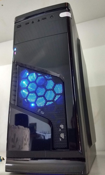 Computador Pc Cpu Gamer Gtx 1050 Ti Core I5 12gb Ram Hd500g