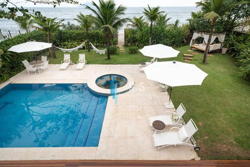 Casa Com 6 Dormitórios À Venda, 800 M² Por R$ 15.900.000 - B Una - São Sebastião/sp - Ca0537