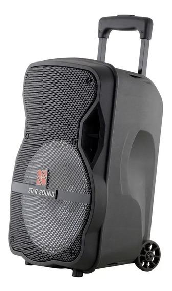 Caixa Ativa Star Soud Ss100 Com Microfone