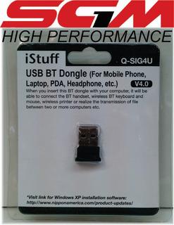 Sgm1 Istuff Usb Bluetooth Conexion Pc A Perisfericos