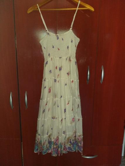 India Style Vestido Solero Midi Impecable!