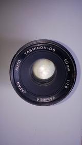 Lente Camera Yashica 1:1.9 50 Mm Auto Yashinon - Ds