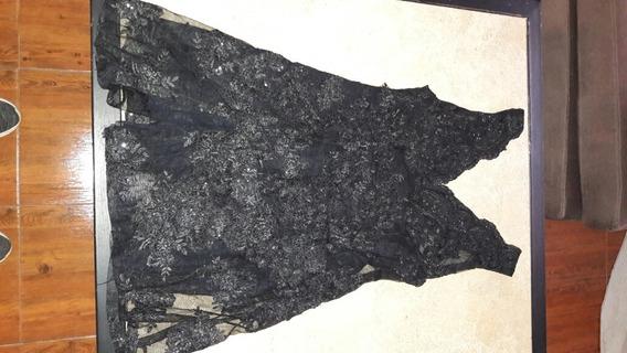 Vestido De Fiesta Negro Corto
