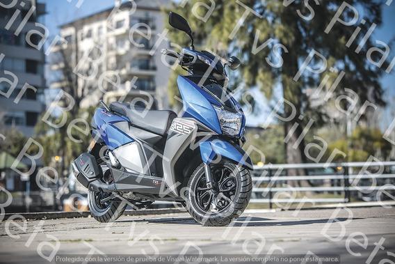 Ntorq 125 Scooter Tvs Motopier $ 40000 + Cuotas C/tarjeta