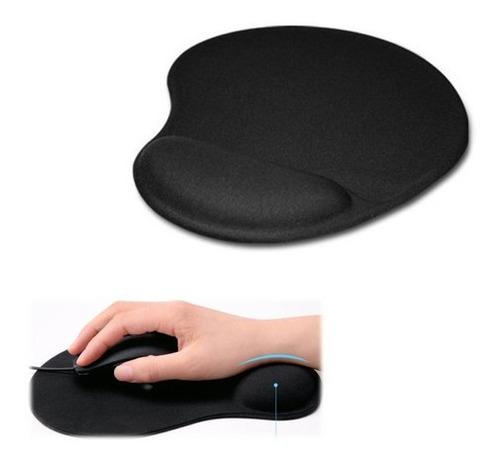 Pad Mouse Tela Acolchado Descansa Mano Muñeca + Obsequio