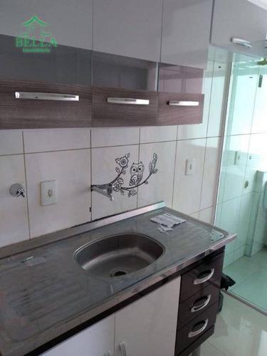 Apartamento Residencial À Venda, Vila Menk, Osasco. - Ap0922