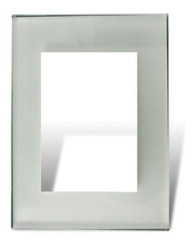 Imagen 1 de 4 de Cambre Tapa Y Distanciador Vidrio Blanco 4962