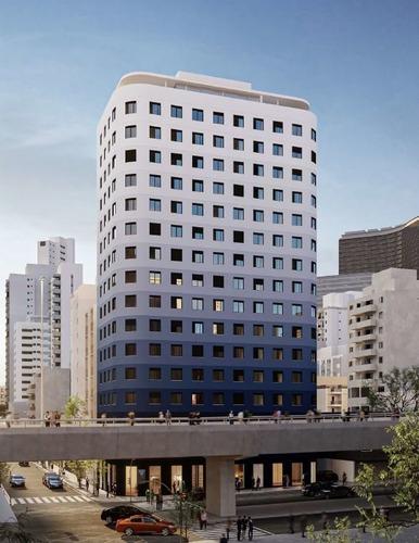 Apartamento À Venda No Bairro Vila Buarque - São Paulo/sp - O-6122-14536