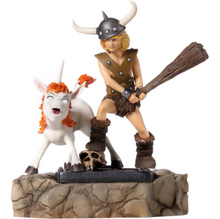 Bobby And Uni - 1/10 Bds- Dungeons & Dragons - Iron Studios