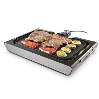 Parrilla Eléctrica 2 En 1 2200 W Smartlife Sl-grd0008 Grill