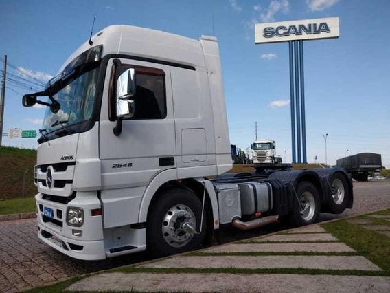 Mb Actros 2546, 6x2, 2014 Scania Seminovos Pr 2e05