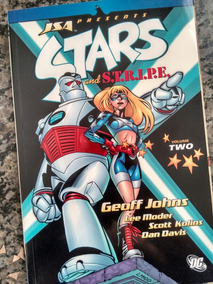 Stars And Stripe Jsa Sociedade Da Justiça Geoff Johns