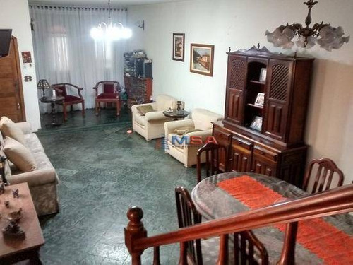 Imagem 1 de 18 de Estuda Eventual Permuta Por Casa Menor Valor Na Região - Sobrado Residencial - Com 3 Quartos À Venda, 267 M² Ac Por R$1.180.000 - Lapa - São Paulo/sp - Ca1086
