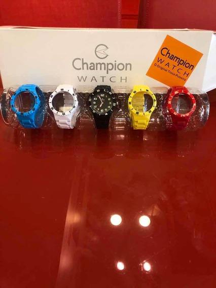 Relógio Champion Troca Pulseira -ref Cp38086x