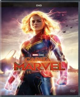 Dvd Capitã Marvel - Nacional Filme Disney Original E Lacrado