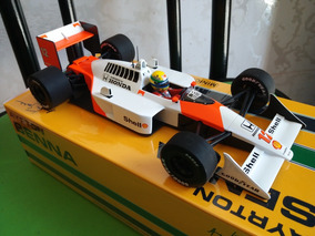 F1 1/18 Mclaren Mp4/4 1988 Ayrton Senna